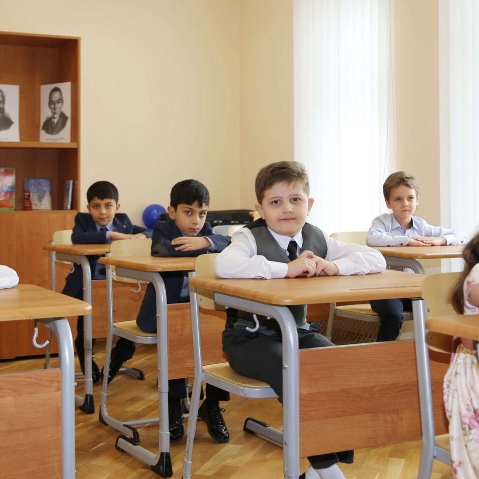 Ученики Гимназии им. Святого Григора Нарекаци вернулись к оффлайн формату